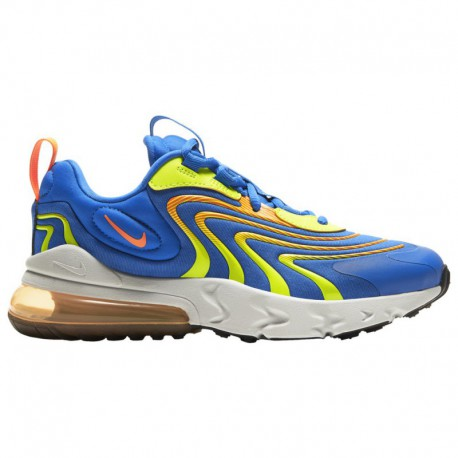Nike Air 270 React Eng Nike Air Max 270 React Eng - Boys' Grade School Soar/Total Orange/Volt