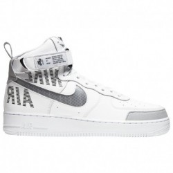 Nike Air Force 1 High 07 Lv8 Suede Grey Nike Air Force 1 High '07 LV8 - Men's White/Grey/Silver