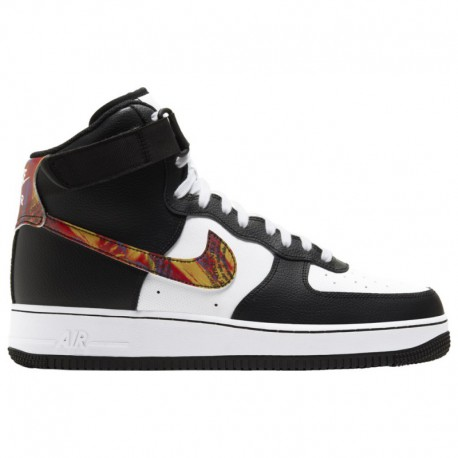 Fake High Top Air Force Ones Nike Air Force 1 High LV8 - Men's White/Multi/Black/Pistachio Frost