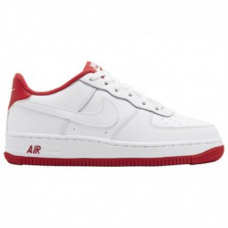 nike air force 1 low 07 leather white team red low white nike air force 1 dream team nike air force 1 low boys grade school whi