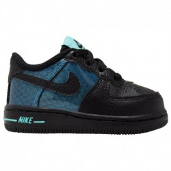 Nike Air Lv8 Black Nike Air Force 1 Low - Girls' Toddler Black/Black/blue Hero | LV8