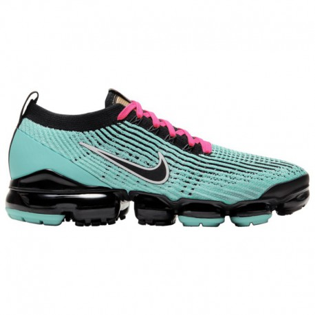 Nike Air Vapormax Flyknit Men's Black Nike Air Vapormax Flyknit 3 - Men's Hyper Turquoise/Black/Pink Blast/White