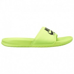Nike Benassi JDI Black Nike Benassi JDI Text Se - Men's Volt/Black
