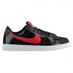 Nike Blazer Low White Black Speed Red Nike Blazer Low - Girls' Grade School Black/Speed Red/bleached Coral | Valentine's Day