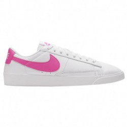 Nike Blazer Low Le Icon Clash Nike Blazer Low - Women's White/Laser Fuchsia/White | Le / Icon Clash