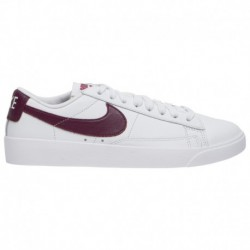 Nike Blazer Basse Bordeaux Nike Blazer Low - Women's White/Bordeaux/White | Le
