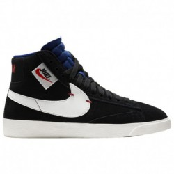 Nike Blazer MID Rebel Black Nike Blazer Mid Rebel - Women's Black/White/Royal