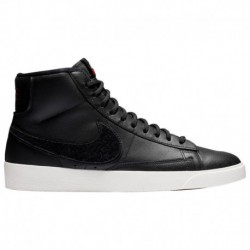Nike Blazer University Red Nike Blazer Mid - Women's Black/University Red