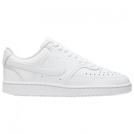 Nike Court Vision Low White Nike Court Vision Low - Men's White/White/Black