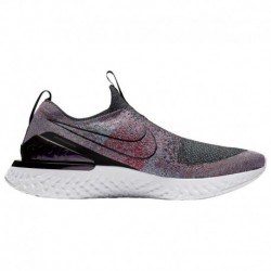 Nike Epic Phantom React Flyknit Red Nike Epic Phantom React Flyknit - Men's Black/Black/University Red | World Hood