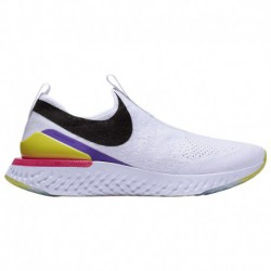 Women's Nike Epic Phantom React Flyknit Nike Epic Phantom React Flyknit - Women's White/Black/Laser Fuchsia | Disrupt Pack