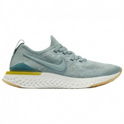 Nike Epic React Grey Blue Nike Epic React Flyknit 2 - Boys' Grade School Aviator Grey/Aviator Grey/Blue Fury