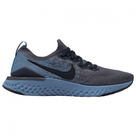 Nike Epic React Flyknit 2 Boys Nike Epic React Flyknit 2 - Boys' Grade School Thunder Grey/Black/Ocean Fog