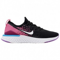 pink nike epic react nike epic react white nike epic react flyknit 2 girls grade school black white pink blast