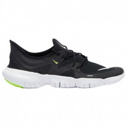 Nike Free Run Black White Anthracite Nike Free Rn 5.0 - Men's Black/White/Anthracite/Volt