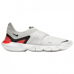 Nike Free Flyknit Men's Nike Free Rn Flyknit 3.0 - Men's Grey/Black/Red