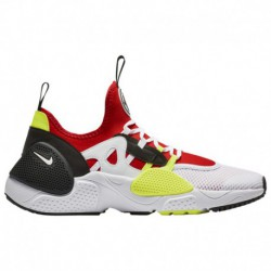 Nike Huarache Red White Nike Huarache E.d.g.e - Men's White/White/University Red/Volt | Textile