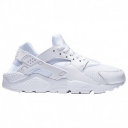 Nike Huarache Run Boys Grade School All White Nike Huarache Run - Boys' Grade School White/Pure Platinum/White