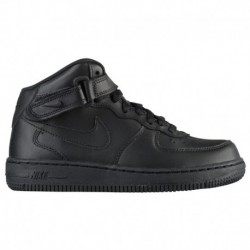 nike air force 1 mid black black nike air force 1 mid nike air force 1 mid boys preschool black black