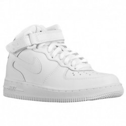 nike air force mid 1 white nike shoes white air force one mid nike air nike air force 1 mid boys preschool white white