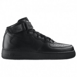nike air force mid black gum nike air force 1 mid 07 men s shoe black nike air force 1 mid men s black black