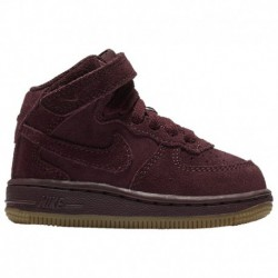 nike air force 1 burgundy suede nike air force one burgundy suede nike air force 1 mid suede boys toddler burgundy gum