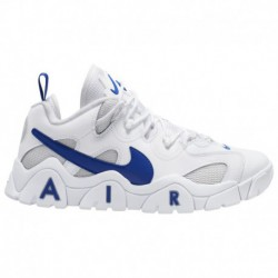 Nike Air Barrage MID Men's Stores Nike Air Barrage Low - Men's White/Hyper Blue