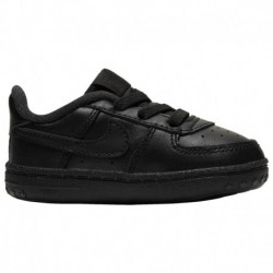 Infant Nike Air Force 1 Black Nike Air Force One Crib - Boys' Infant Black/Black/Black