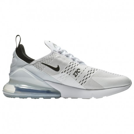 Nike Air Max 270 White Black Floral Nike Air Max 270 - Men's White/Black/White